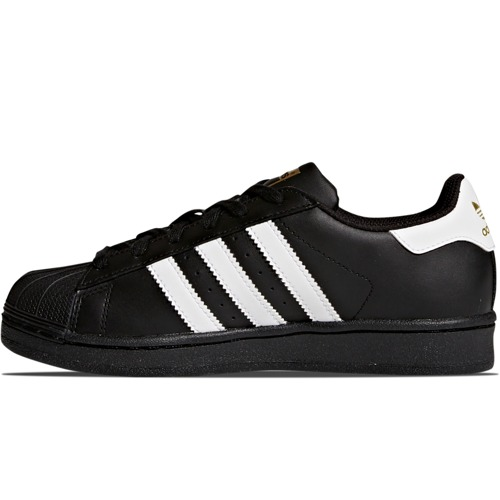 BUTY JUNIOR ADIDAS SUPERSTAR CZARNE B23642