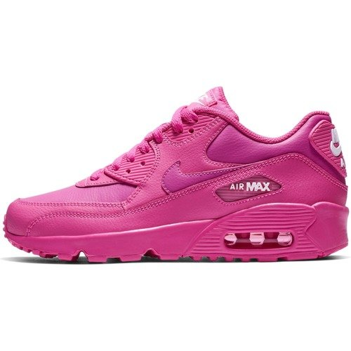 BUTY JUNIOR NIKE AIR MAX 90 LEATHER RÓŻOWE 833376-603 (GS)