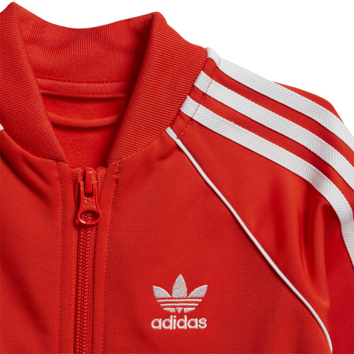 DRES JUNIOR ADIDAS SUPERSTAR SUIT CZERWONY DV2822
