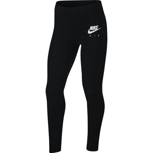 LEGGINSY JUNIOR NIKE AIR CZARNE AQ8833-010
